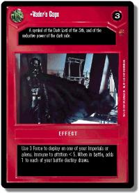 star wars ccg cloud city vader s cape