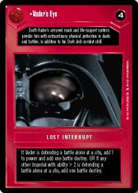star wars ccg premiere limited vader s eye