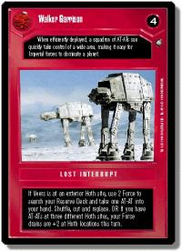 star wars ccg anthologies sealed deck premium walker garrison