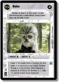 star wars ccg special edition wookiee