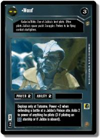 star wars ccg jabbas palace wooof