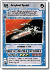 star wars ccg anthologies sealed deck premium x wing assault squadron 1st