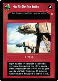 star wars ccg tatooine you may start your landing