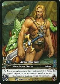 warcraft tcg extended art adam eternum ea