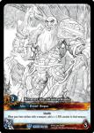 warcraft tcg extended art bromor the shadowblade sketch