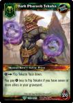 warcraft tcg foil hero cards dark pharaoh tekahn