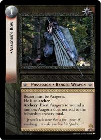 lotr tcg lotr promotional aragorn s bow p