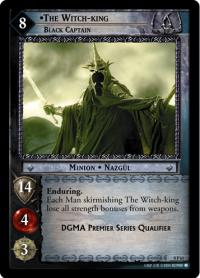 lotr tcg lotr promotional the witch king black captain p