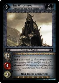lotr tcg lotr promotional the witch king captain of the nine riders 0p108