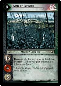 lotr tcg lotr promotional army of isengard w