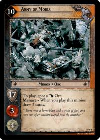 lotr tcg lotr promotional army of moria w