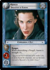 lotr tcg fellowship of the ring arwen daughter of elrond