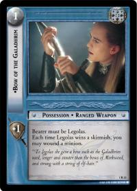 lotr tcg fellowship of the ring bow of the galadhrim