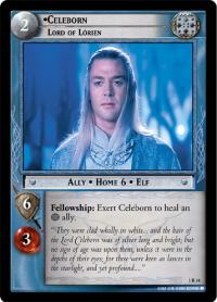 lotr tcg fellowship of the ring celeborn lord of lorien