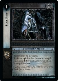 lotr tcg fellowship of the ring black steed