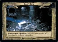 lotr tcg fellowship of the ring foils balin s tomb foil