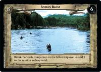 lotr tcg fellowship of the ring foils anduin banks foil