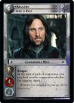 lotr tcg fellowship of the ring aragorn king in exile