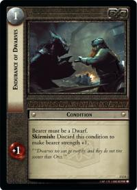 lotr tcg mines of moria foils endurance of dwarves foil