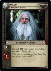 lotr tcg mines of moria gl in friend to thorin