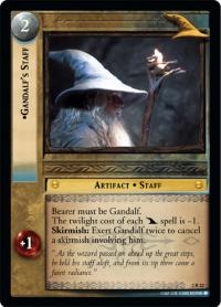 lotr tcg mines of moria gandalf s staff