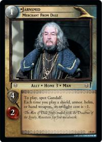 lotr tcg mines of moria j rnsmid merchant from dale