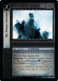 lotr tcg mines of moria his terrible servants