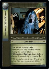 lotr tcg mines of moria foils consorting with wizards foil