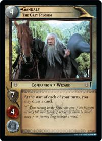 lotr tcg mines of moria gandalf the grey pilgrim