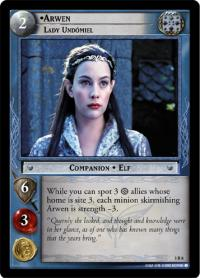 lotr tcg realms of the elf lords arwen lady und miel