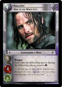 lotr tcg realms of the elf lords aragorn heir to the white city