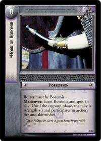 lotr tcg realms of the elf lords horn of boromir