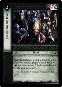 lotr tcg realms of the elf lords foils coming for the ring foil