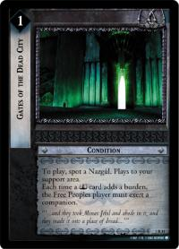 lotr tcg realms of the elf lords gates of the dead city