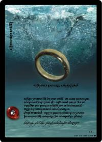 lotr tcg the two towers anthology the one ring answer to all riddles t
