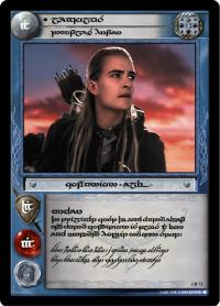 lotr tcg the two towers anthology legolas dauntless hunter t