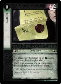 lotr tcg the two towers banished