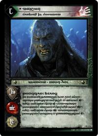 lotr tcg the two towers anthology ugluk servant of saruman t