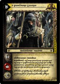 lotr tcg the two towers anthology desert lord t