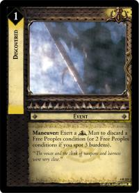 lotr tcg the two towers discovered