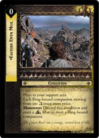 lotr tcg the two towers eastern emyn muil