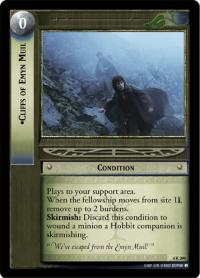 lotr tcg the two towers cliffs of emyn muil