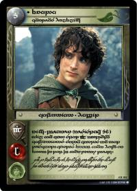 lotr tcg the two towers anthology frodo courteous halfling t
