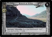 lotr tcg the two towers foils barrows of edoras foil