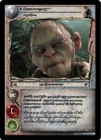 lotr tcg the two towers anthology smeagol slinker t