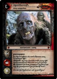 lotr tcg the two towers anthology grishanakh orc captain t