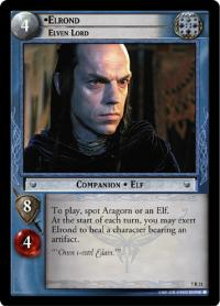 lotr tcg return of the king elrond elven lord
