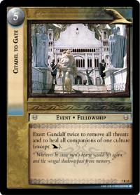 lotr tcg return of the king citadel to gate