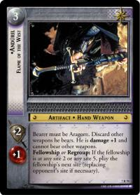 lotr tcg return of the king anduril flame of the west