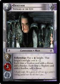 lotr tcg return of the king denethor steward of the city